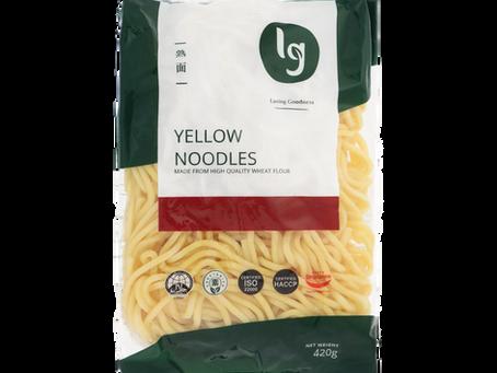 Yellow Noodles 熟面