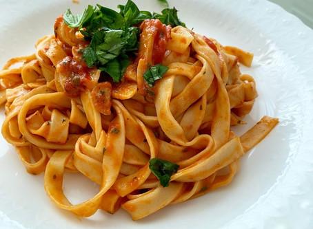 Margherita Inspired Pasta Recipe