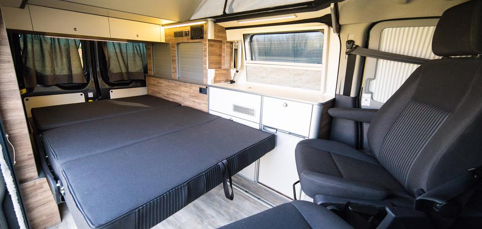 Banco 3 plazas Reimo convertible en cama