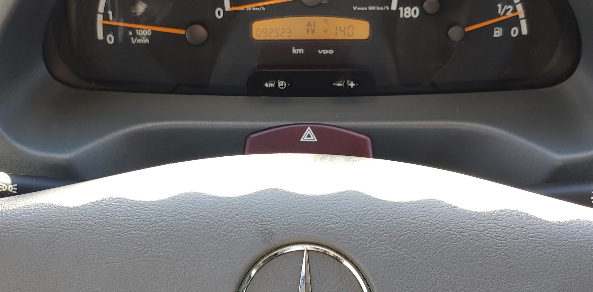 Mercedes Sprinter con sólo 93000kms.