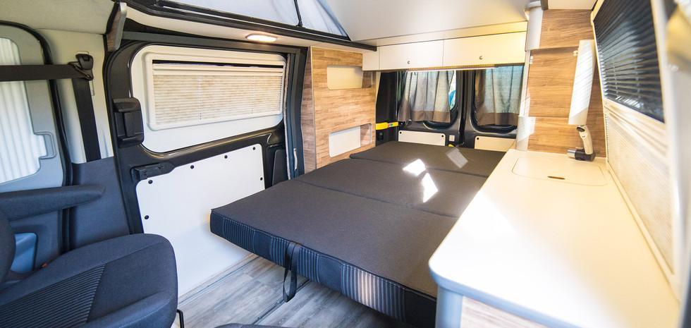 Configuración dormitorio comedor