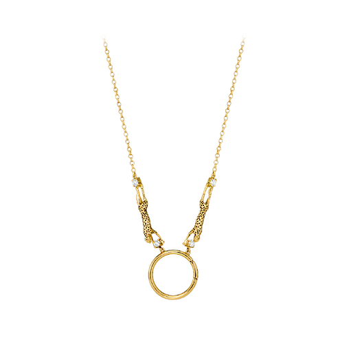 Colar Amuleto Cheetah
