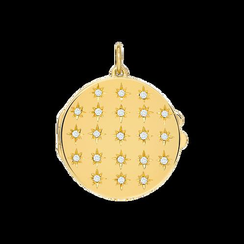 Pingente Relicário Timeless de Diamantes