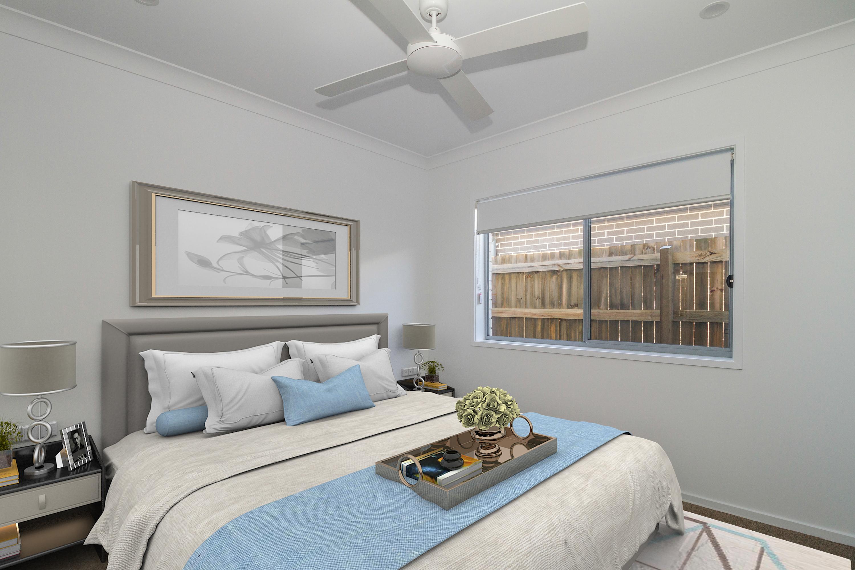 Virtual styled bedroom