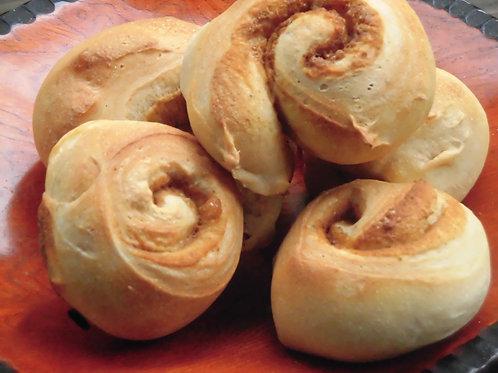 黒糖ジンジャーロールパン(5個入り)
