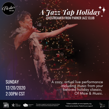A Jazz Tap Holiday!  - Livestreamed from Parker Jazz Club
