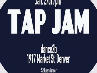 Monthly Tap Jams!