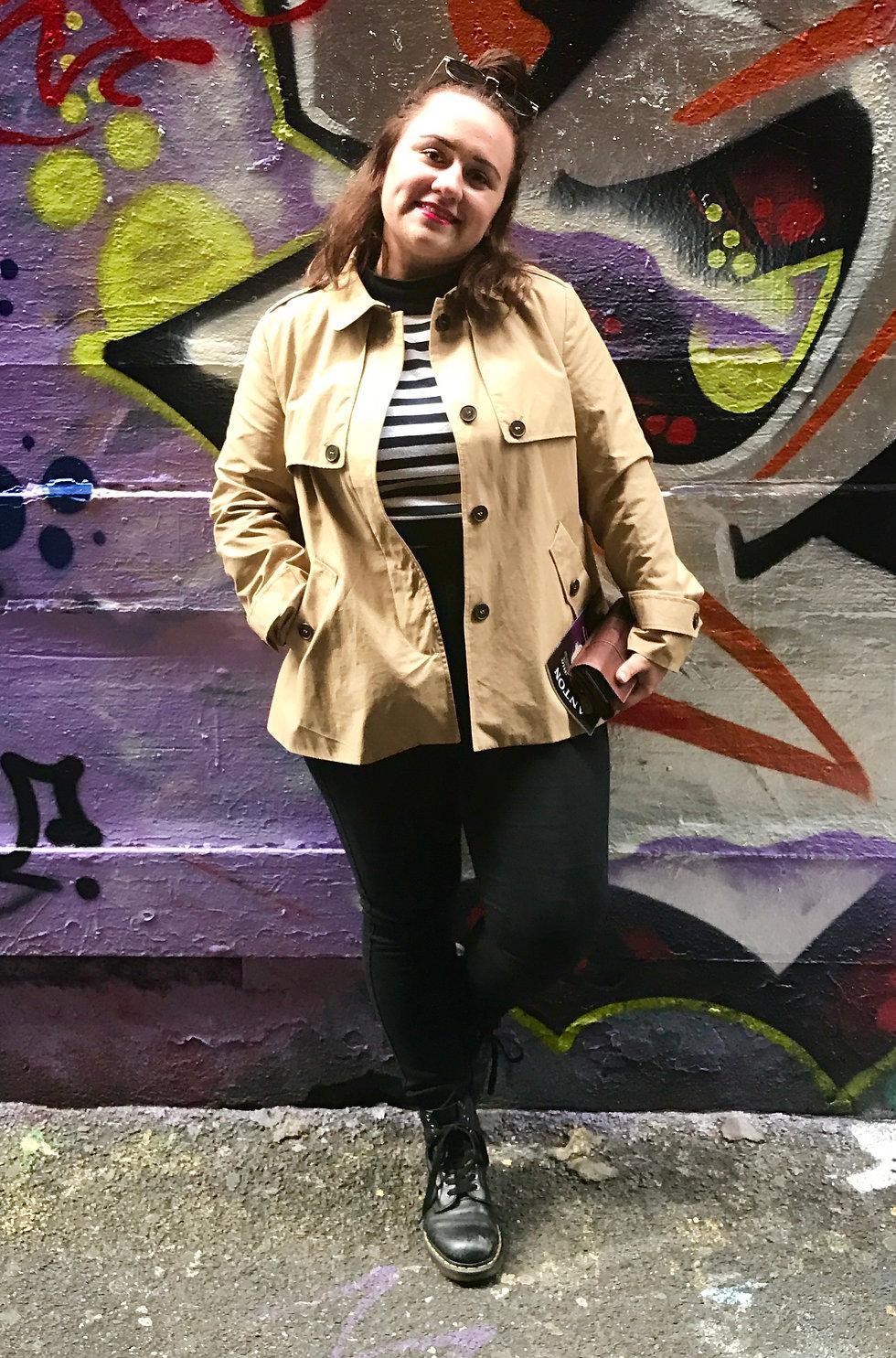Jazmin in Melbourne, 2017