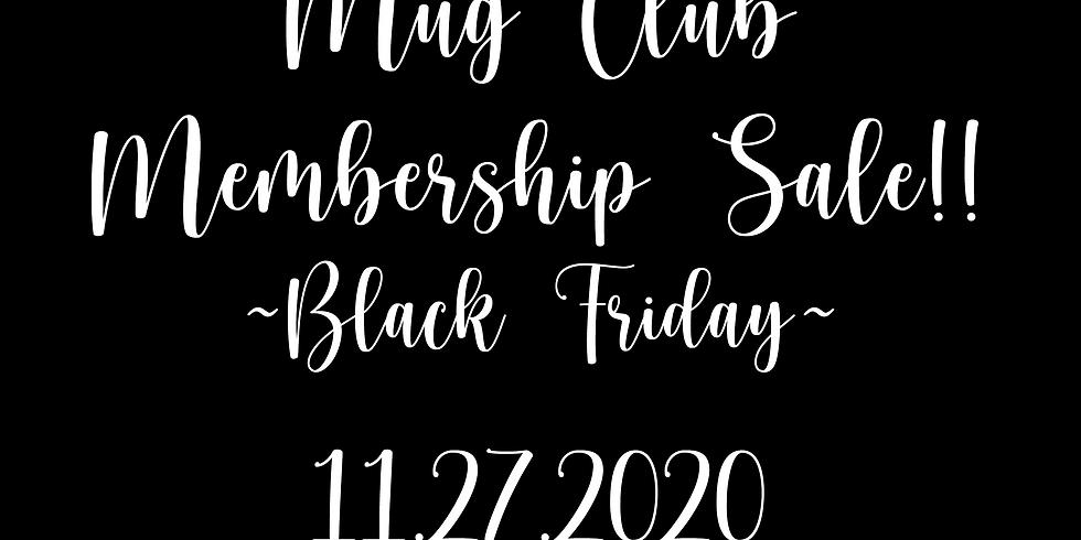 BLACK FRIDAY $25 MEMBERSHIP SALE