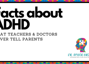 Facts About ADHD That Teachers & Doctors Never Tell Parents