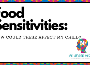 Food Sensitivities: How Could These Affect My Child?