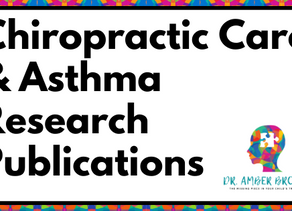 Asthma Research Publications