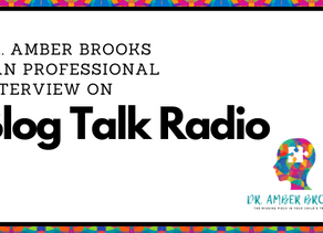 Dr. Amber Brooks DAN Professional- Interview on BlogTalkRadio