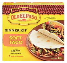 Old Elpaso. Taco Dinner Kit.