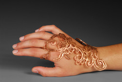 Sketched Lace Ring (2013)