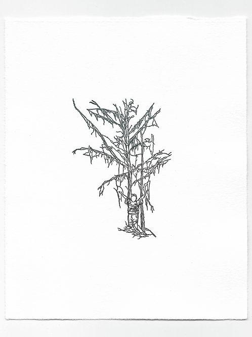 """Imitation"" Relief Print, Variation 1"