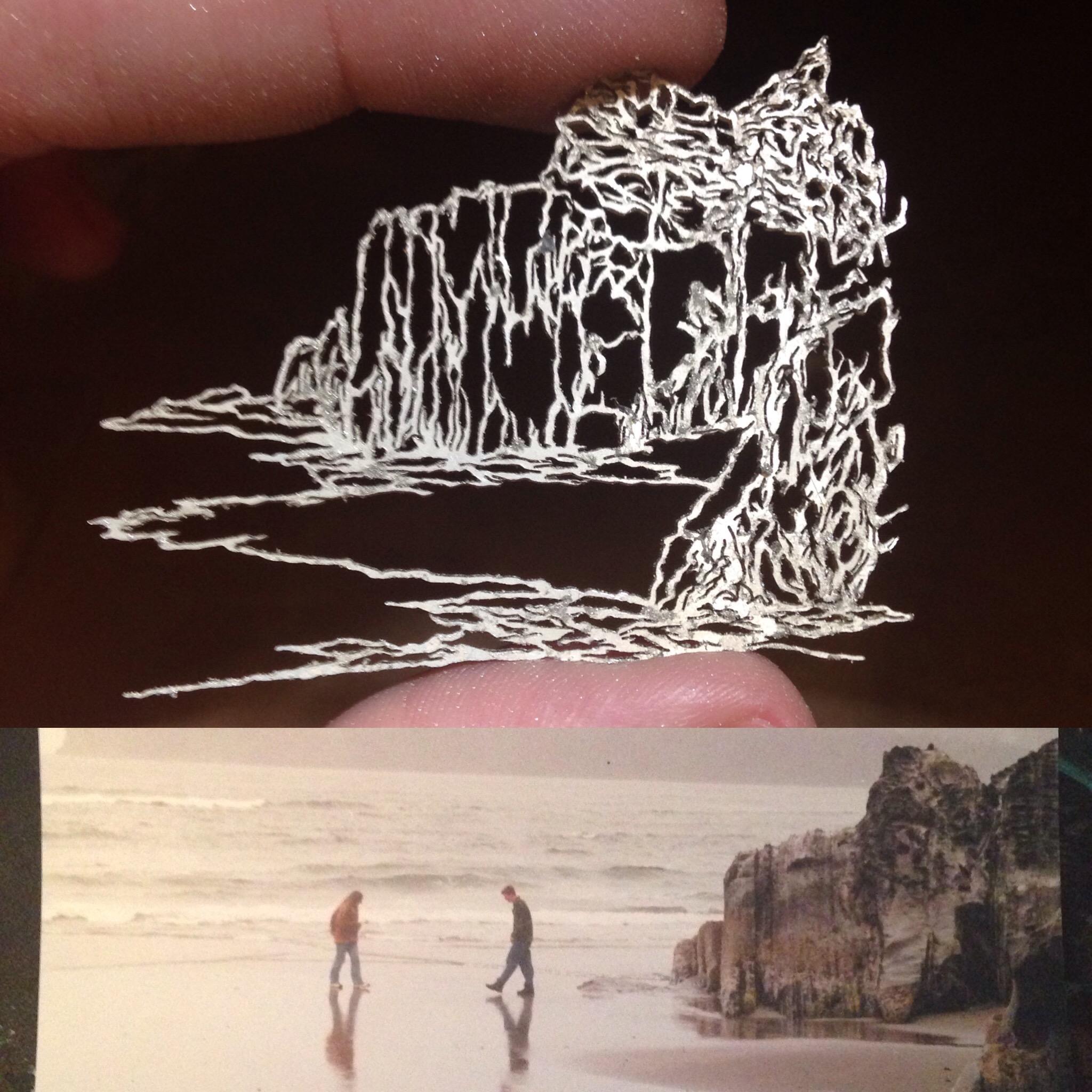 Beachwalkers, Boulders in progress