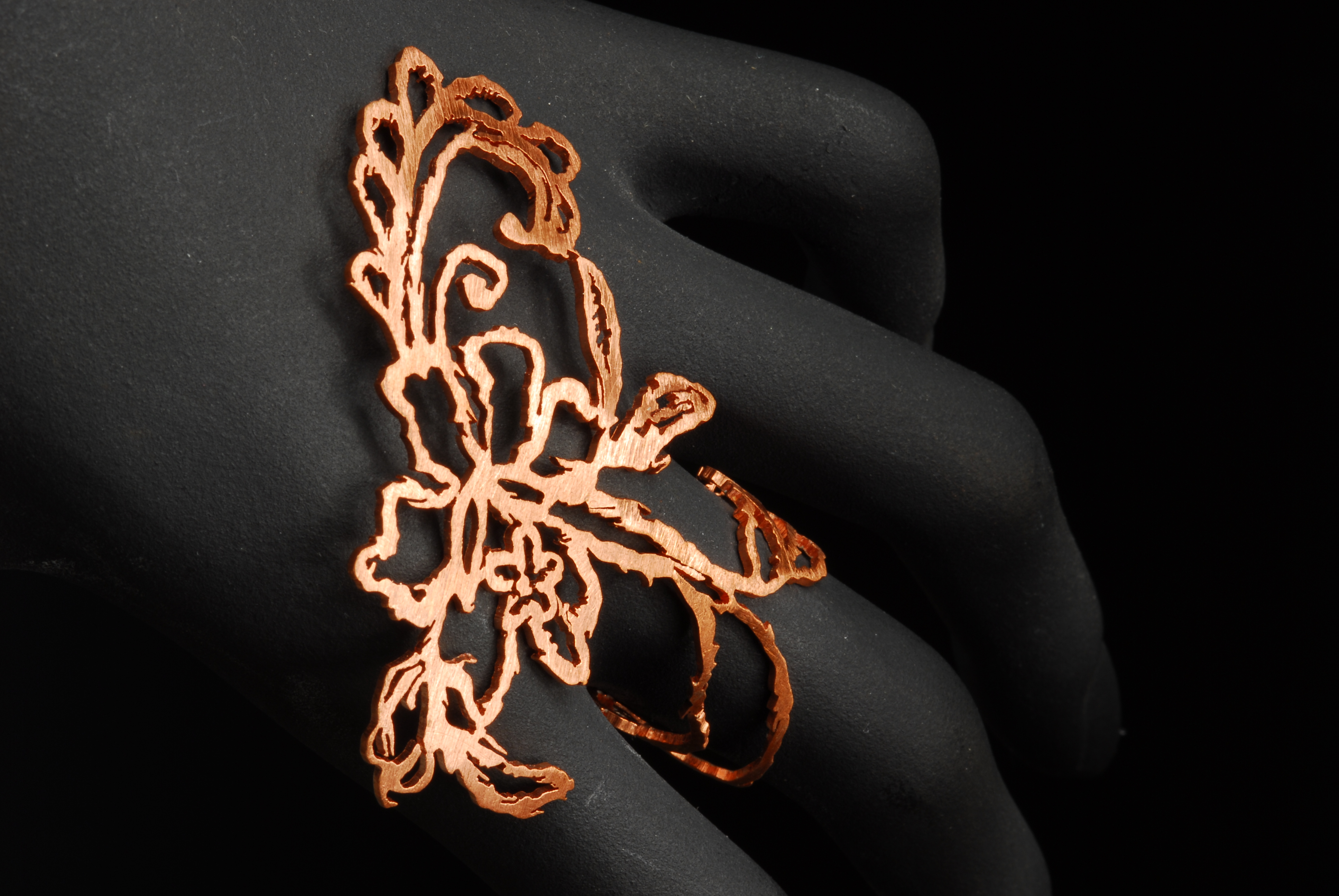 Sketched Lace Ring II (2013)