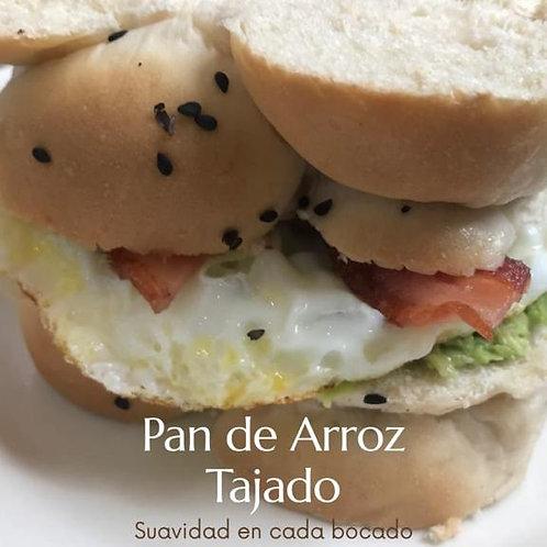 PAN TAJADO DE ARROZ