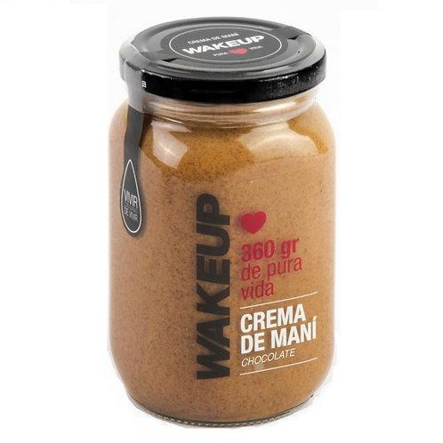 WAKEUP CREMA DE MANÍ CON CHOCOLATE