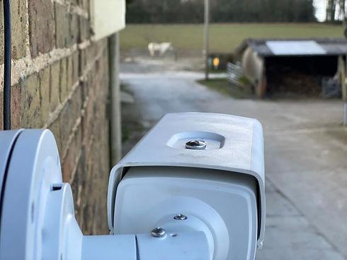 CCTV Camera at Farm