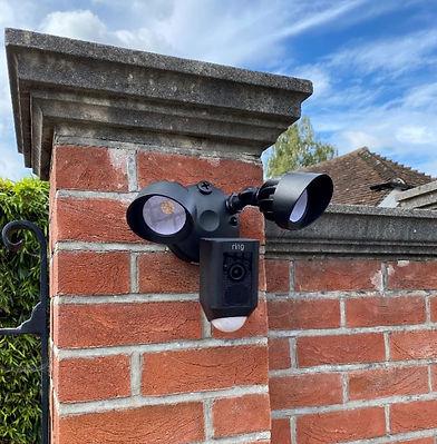 Ring spotlight camera installation.JPG