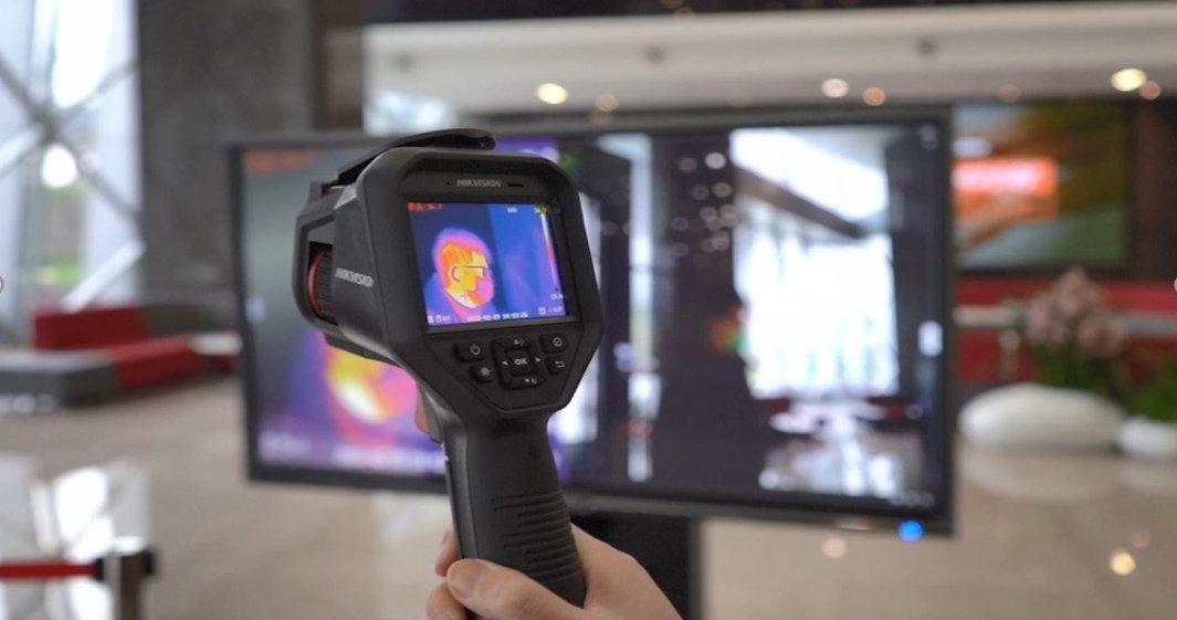 Handheld Temperature Screening Device