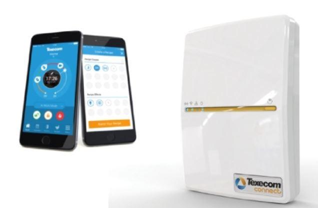 Smart burglar alarm smartphone connection module
