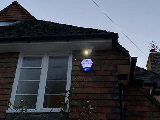 Burglar Alarm Bell Box With Backlight