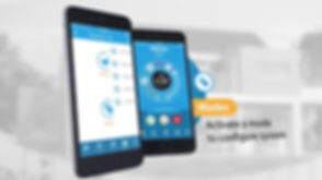 Burglar Alarm App on Smartphone