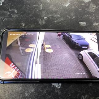 CCTV on Phone