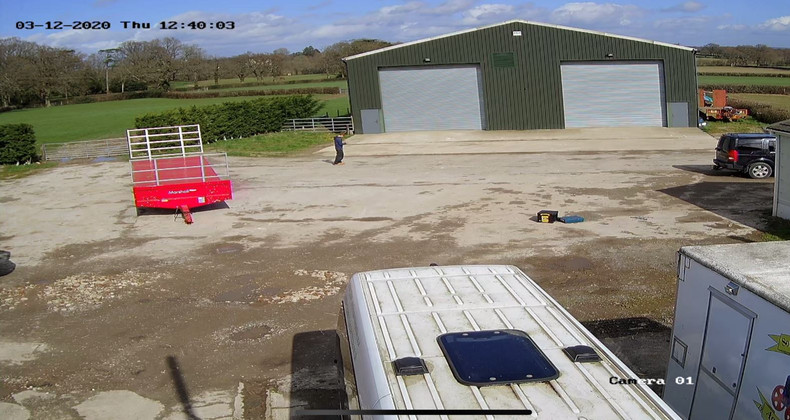 CCTV System Installed at a Farm
