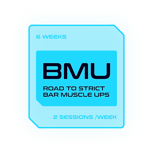 ROAD TO STRICT BAR MUSCLE-UPS