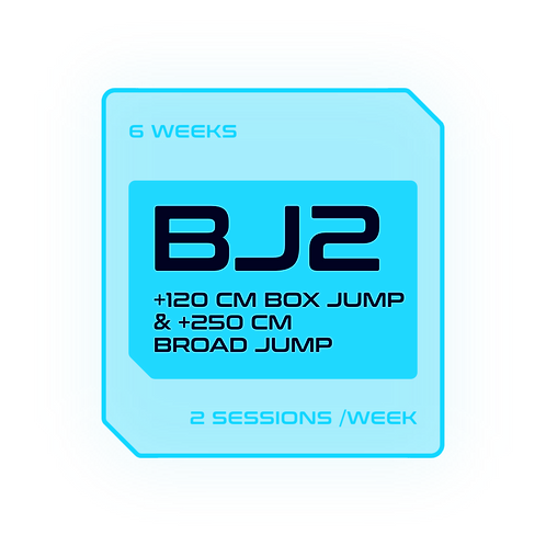 ROAD TO A +120CM BOX JUMP & +250CM BROAD JUMP