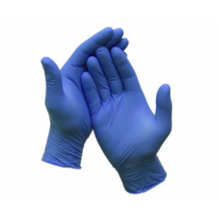 Gloves: Disposable Nitrile (BOX OF 100)