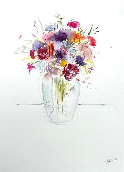 Summer flowers from Shieldaig
