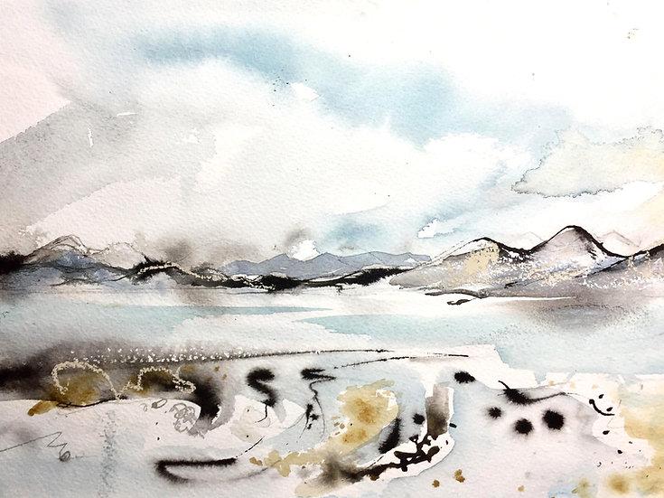 Over the sea to Skye Card