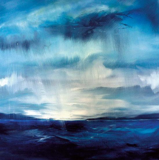 Stormy Loch Shieldaig Mini Print