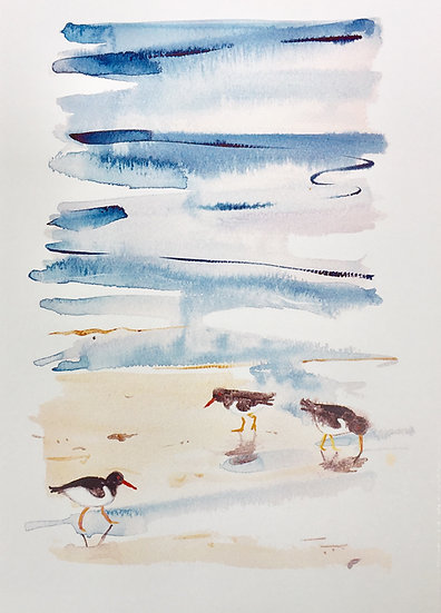 Oyster Catchers Small