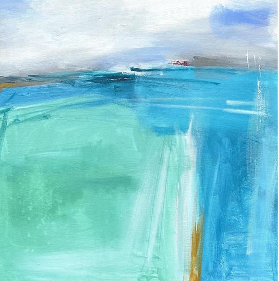 Summer tide,  Shieldaig