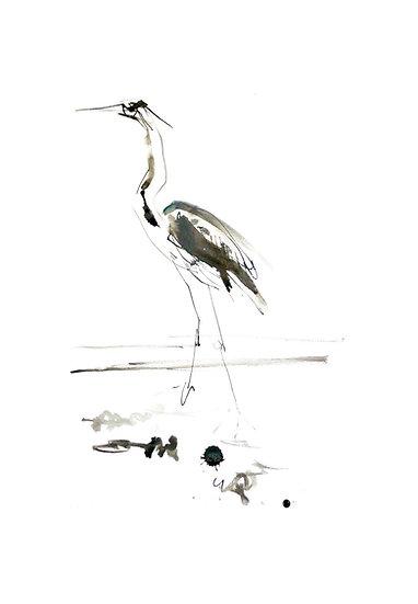 Heron Bhaile Mhinister, Shieldaig Card