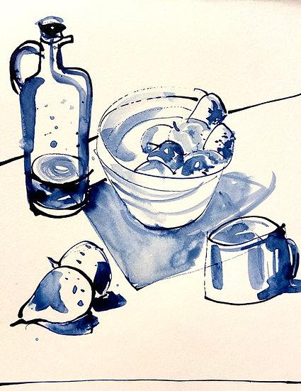 Kitchen Table Study 1, December