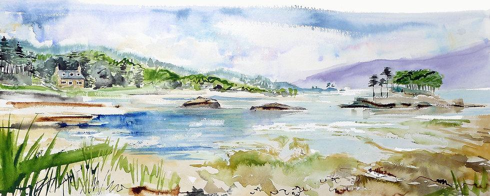 Eilean Chasgaigh, Loch Torridon