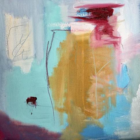The Small Bright Voice.jpg Oil on canvas 30 x 30cm.jpg