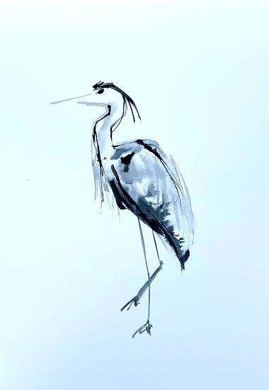 Heron at Annat