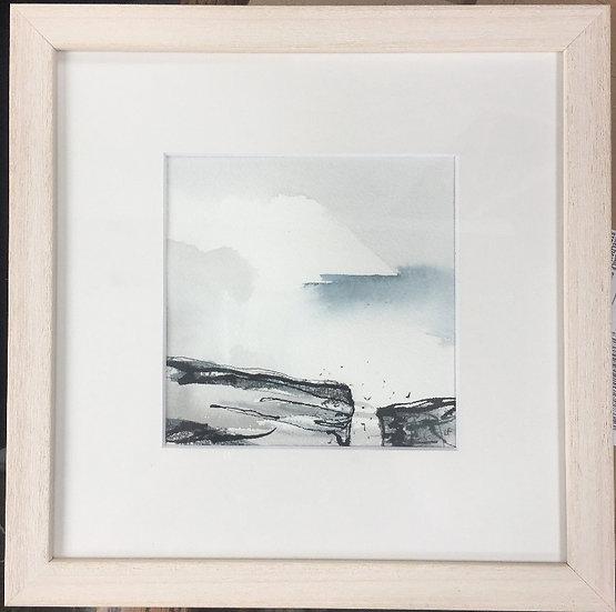 Handa Island  - Two Cliffs