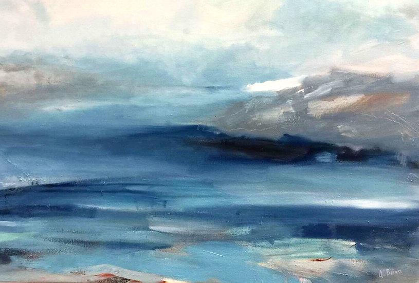 Mist Rising, Loch Torridon