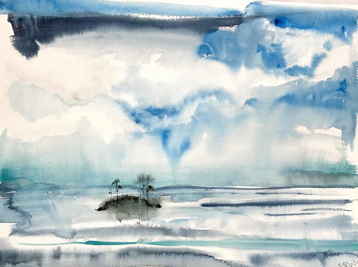 Loch Clair from Glen Torridon