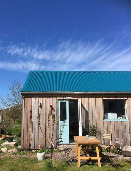 blue sky blue roof shed.jpg