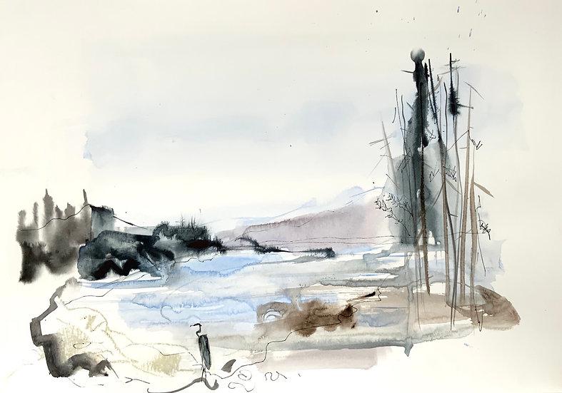 Heron on Loch Torridon